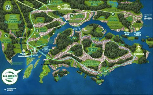 森林城市——世界级生态绿色智慧之城,未来城市的榜样
