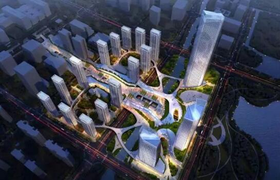 未来科技城新地标:科技之光效果图·非实景