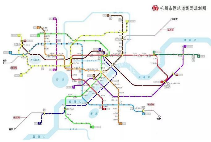 杭州城市综合交通专项规划修编 图/杭州市规划局图片